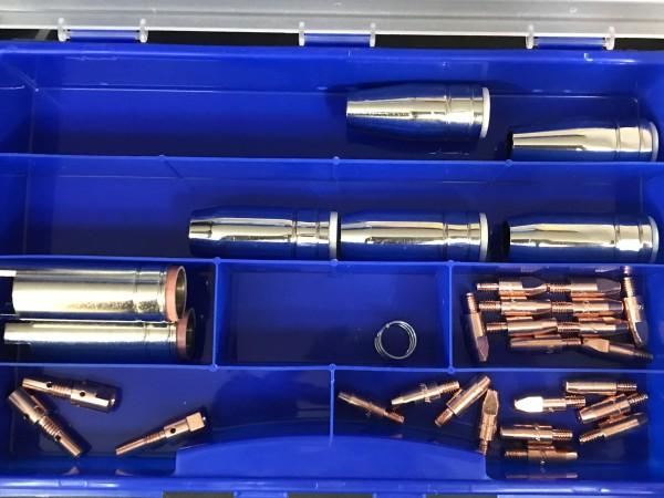 Ersatzteilbox TBI 250 Alu/E-Cu 1,0