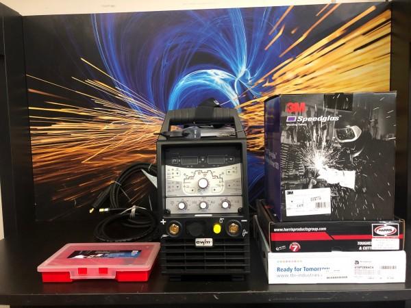 Tetrix 230 AC / DC Comfort 2.0 5 Pol im Set mit Gratis Speeglas 100