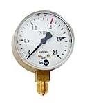Ersatzmanometer für Acetylen (Arbeitsdruck)