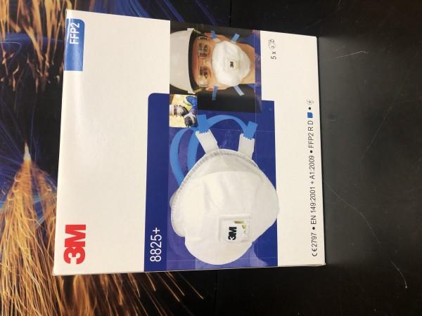 Atemschutzmaske FFP2 NR D mit Ventil 8825+