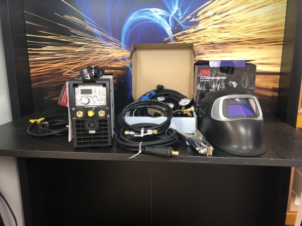 EWM Picotig 200 im SET mit Speedglas 100V
