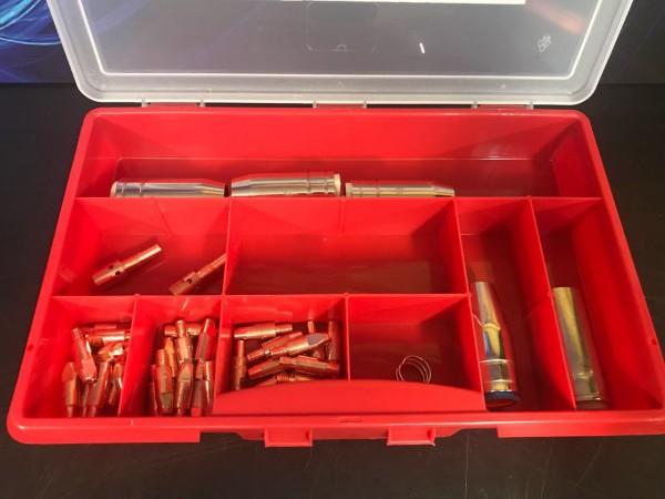 MIG MAG Ersatzteilbox Brennertyp 250