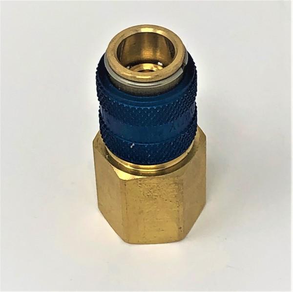 Schnellkupplung G 1/4 R Blau