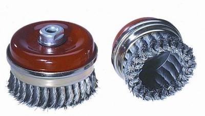 Topfbürste, gezopft, 65mm, V2A