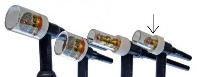 GAS Saver Kit Glasdüse Jumbo 2,4mm 9/20/21/320
