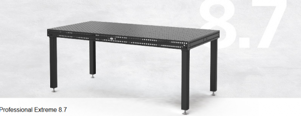 Schweißtisch System 16 Professional Extreme 8.7 1000x1000x100 mm