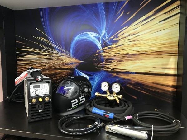 EWM Picotig 200 Puls TG im Set mit TBI Brenner / Vegaview 2.5