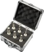 DK 600 F Supra Set Trockenbohrkronen-Set für Feinsteinzeug