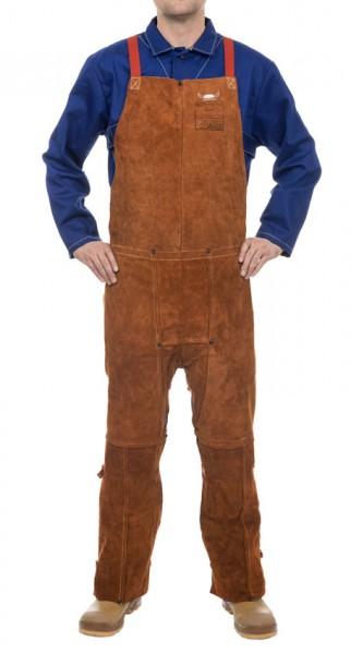 Lava Brown 122 cm länge spalt Rindleder Beinschürze