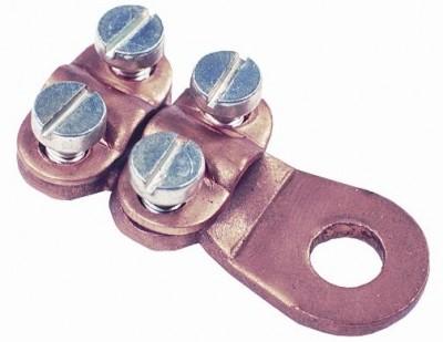 Klemmkabelschuh Kupfer 25mm², VPE = 5 St.