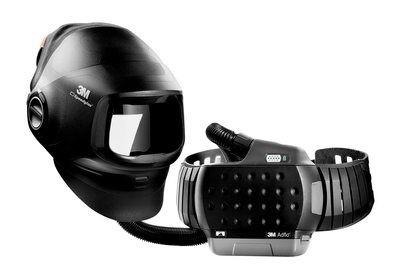 3M Speedglas Hochleistungs-Schweißmaske G5-01 mit 3M Adflo Gebläseatemschutz, ohne Schweißfilter