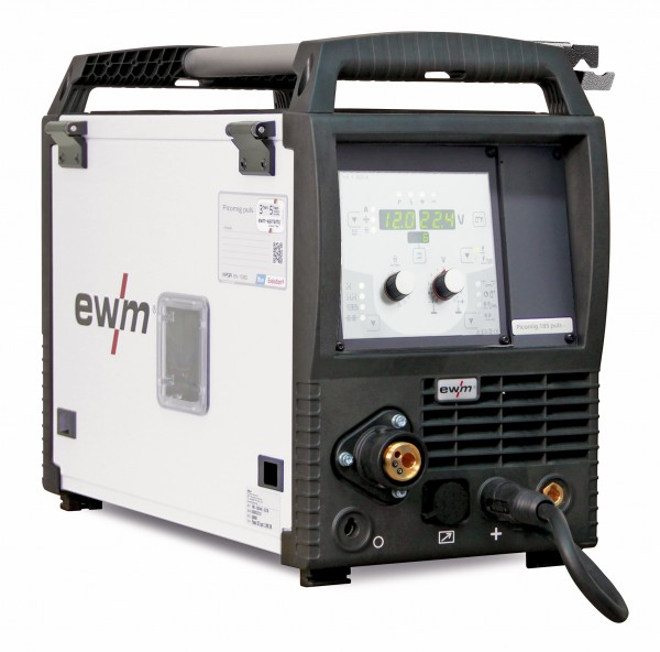 EWM Picomig 305 Puls Schweißanlage + Zubehör