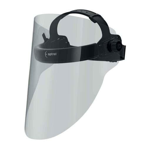 medmaxx - Augen- und Gesichtsschutz, extra leicht mit grosser Sichtscheibe, Komfort Kopfband